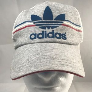 Vintage ADIDAS Trucker hat trefoil logo Snapback